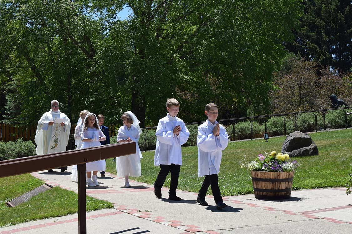 La Salette Shrine First Communion 2021