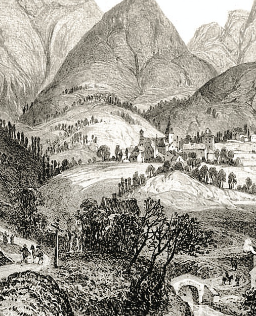 THE VILLAGE of La Salette in the French Alps.